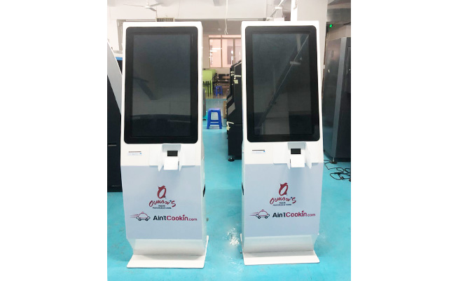 Panzhong's self odering kiosk in Canada,50 units
